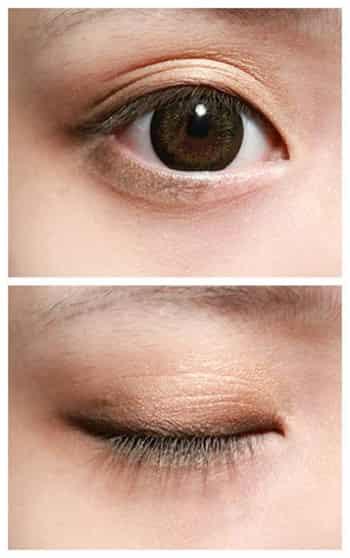 精灵般眼影的画法和 如何画好眼影不浮肿不脱妆 力荐画眼影的步骤及