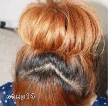 儿童韩式发型扎法步骤