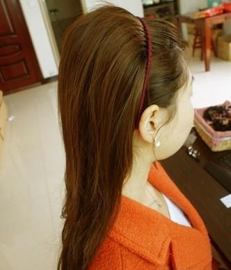 马尾怎么扎好看 马尾辫的扎法图解打造唯美公主发型