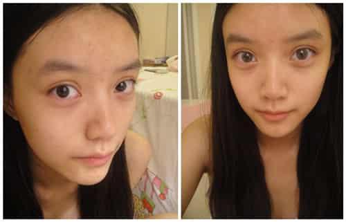 韩式清新裸妆化妆步骤图解