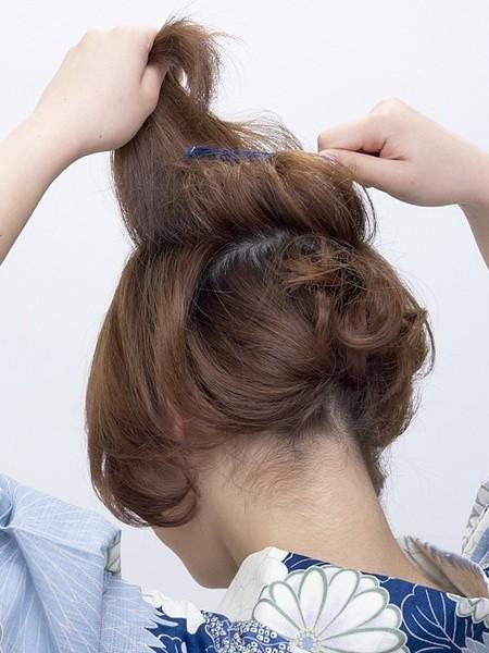 短发怎样梳头发好看步骤图解图片
