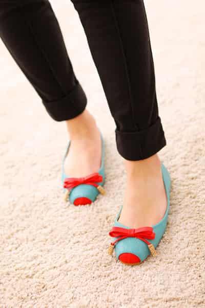 2012春季新款女鞋流行趋势 潮范靓丽单鞋玩转春季 (6)