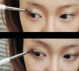 昕薇模特黄一琳 示范甜美日系妆容的画法