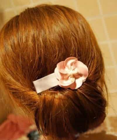 简单的盘发方法步骤教学-盘发发型步骤大全 盘发步骤大全 盘发大全及图片