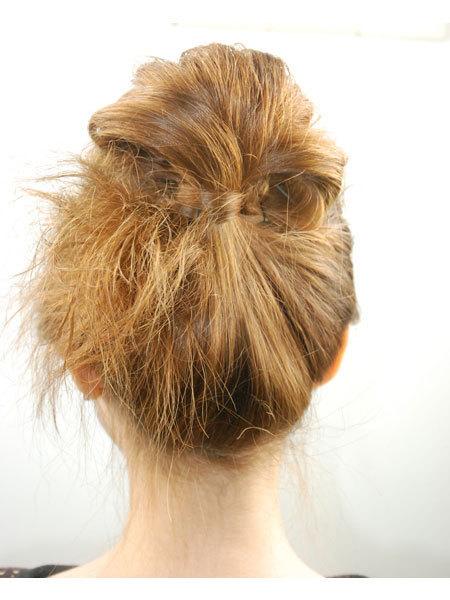 头发雕刻扇形图