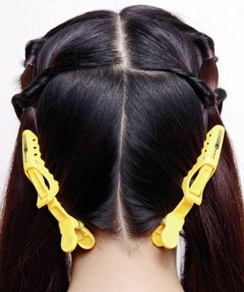 最新韩式新娘发型扎法图解