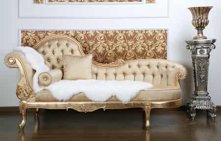 2012最新款精致欧式实木布艺真皮沙发图片