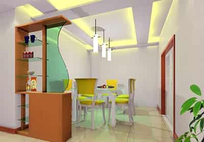 家庭餐厅装修效果图 个性设计欣赏