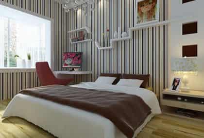 2012最新卧室装修效果图 时尚好看的设计