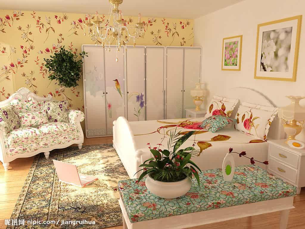 时尚现代家居装修 打造小清新田园风格 (5)