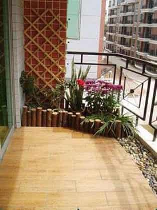 2012家庭阳台装修效果图 有阳光的家居更舒适 (2)