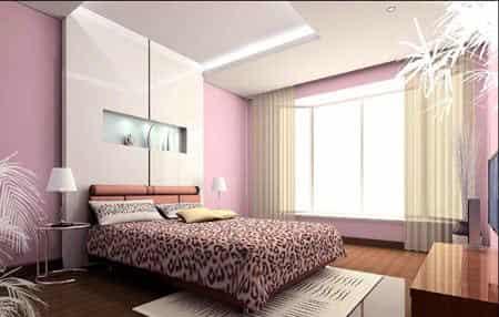 2012最新精致卧室装修效果图大全 创意装潢设计 (5)