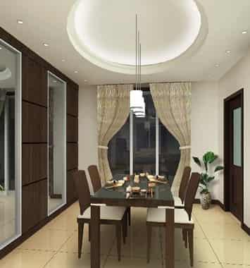2012家庭餐厅装修设计效果图 时尚气派装潢