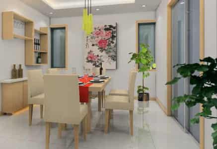 2012家庭餐厅装修设计效果图 时尚气派装潢 (3)
