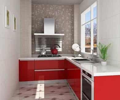 小户型家居厨房装修效果图