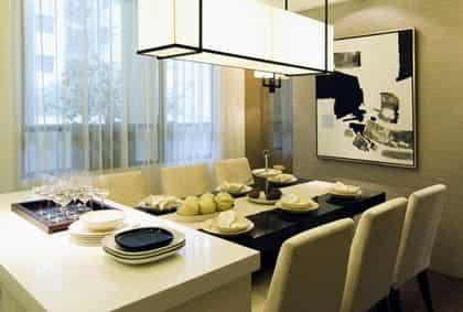 家庭餐厅装修设计效果图 秀出时尚美家 (4)