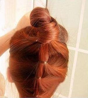 夏季清新发型扎法图解