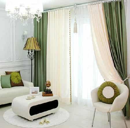 纯色家居窗帘 彰显简约时尚的品味