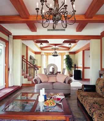 家居室内装修设计图 晒不同风格美家图片