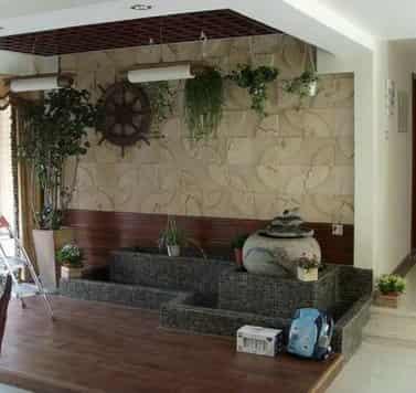 室内入户花园装修图 怎样打造自然清新美家