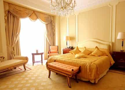 卧室装潢设计图 装饰温馨舒适家居