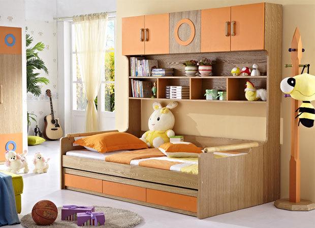 儿童房间装修效果设计图