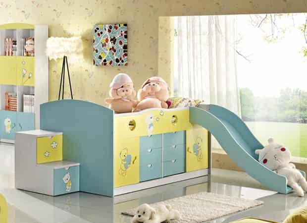 小编点评:可爱的宝宝房