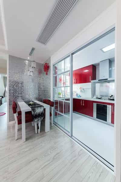室内家居装修效果图 打造红白色调喜庆婚房(图) (7)