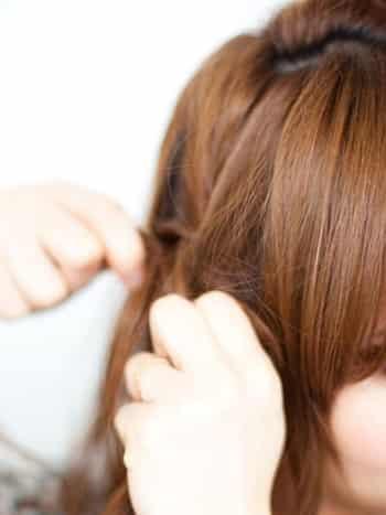 diy女生百搭发型 2款超易学简单扎发步骤 (6)
