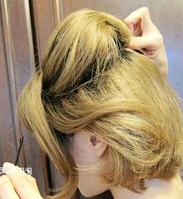 短发怎么扎好看 可爱短发编发教程图解