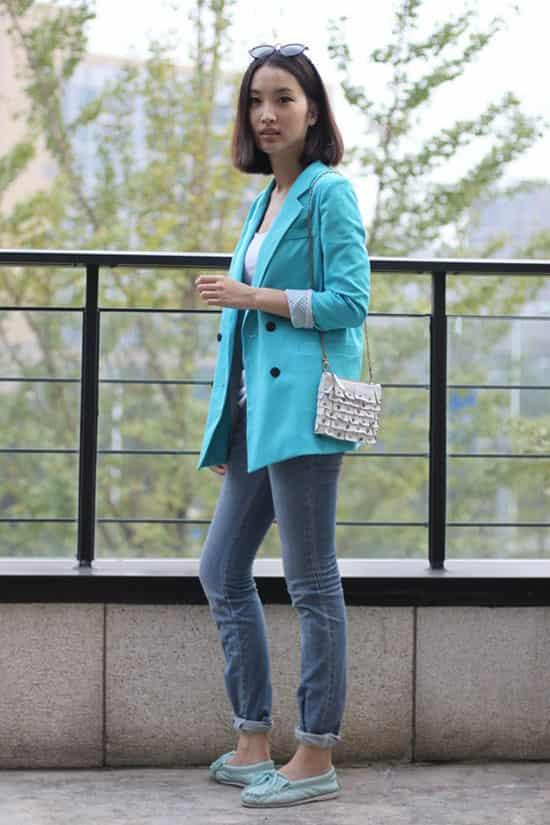 秋季韩版流行服装搭配