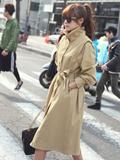 台湾风衣街拍搭配 看出街女王穿衣搭配术