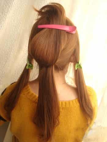 韩式发型编发步骤 打造优雅淑女范 (2)图片