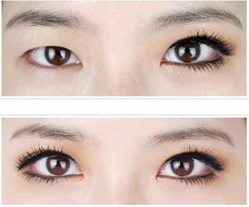单眼皮小眼睛眼妆化妆步骤图解