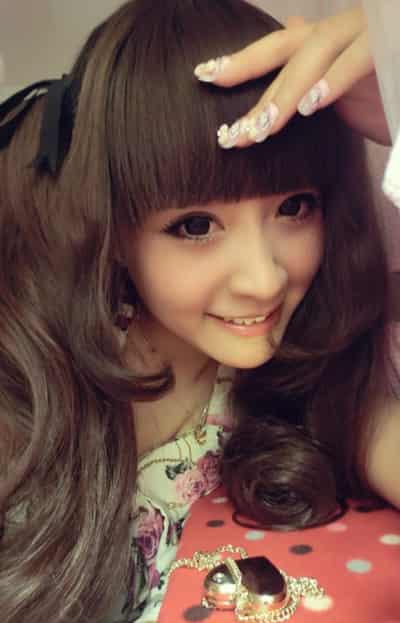 日系甜美娃娃妆容 快速可爱美妆画法