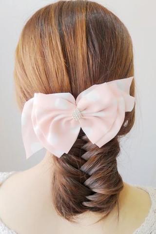 韩式淑女发型编发盘发教程 图解简单步骤打造百搭发型