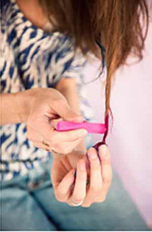 个性 染发/染发粉笔DIY打造彩虹色 2013最热门活力个性女染发 (3)