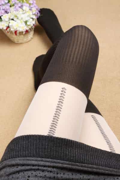 最新黑色丝袜图片推荐 完美呈现性感美腿 (5)