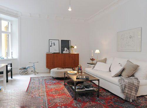 北欧风格客厅装修效果图 挪威幻想主义设计风格 (2)