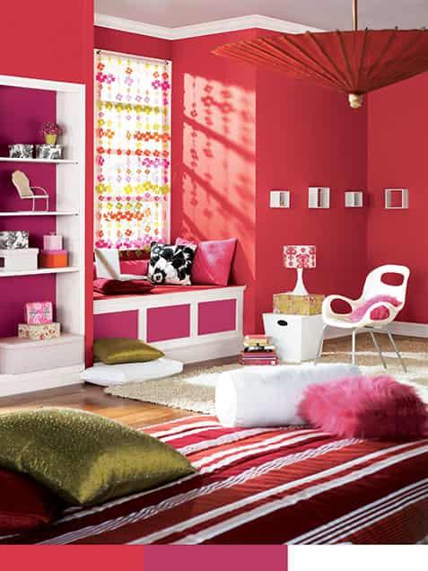 卧室房间颜色如何影响心情