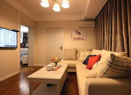 长方形客厅家具摆放设计 充分利用空间 (2)