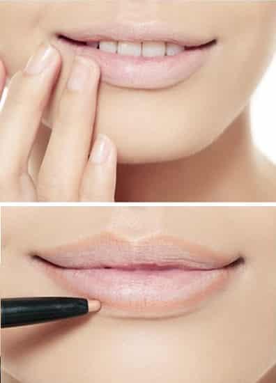 韩国立体唇妆画法步骤 超赞粉嫩嘟嘟唇