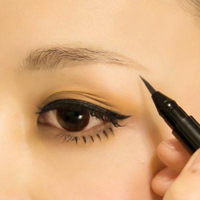 初学化妆者眉毛的画法