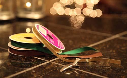 手工diy圣诞树发夹 简单图片教程一学就会