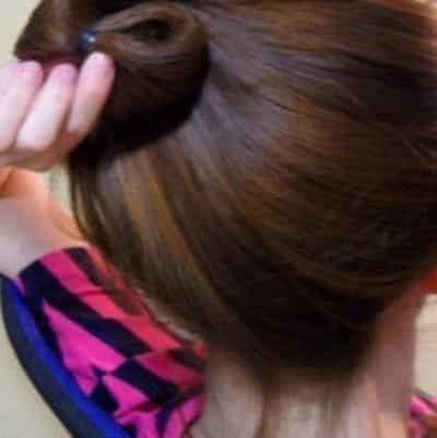 五分钟快速打造约会甜美发型 最新韩式编发扎发过程详解 (3)图片