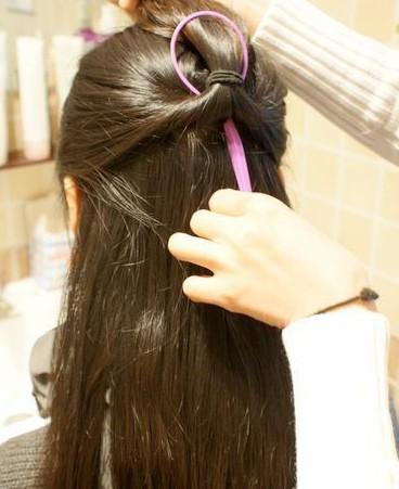 韩式淑女发型扎法步骤 8款小清新造型快速搞定 (2)