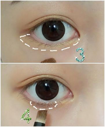 详解韩式大眼淡妆化妆步骤 打造春季自然风 (5)