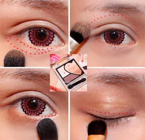 日系清新淡妆化妆步骤