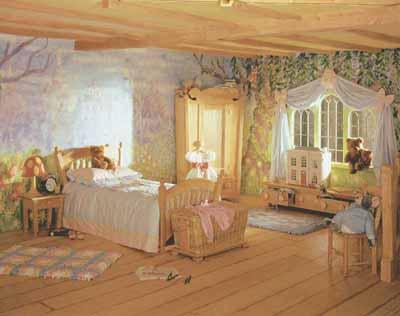欧美儿童卧室创意装修效果图