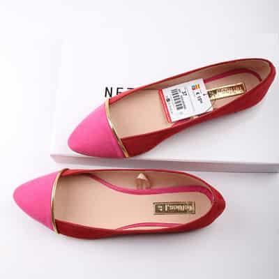 春夏女式糖果色平跟鞋 穿出优雅甜美气质